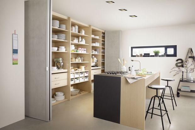 Nowy trend!!! Pomysłowe kuchnie ukryte za drzwiami