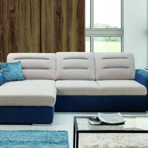 Sofa Play. Mebel idealny do salonu lub pokoju dziennego. Posiada funkcję spania i pojemnik na pościel. Fot. Stagra
