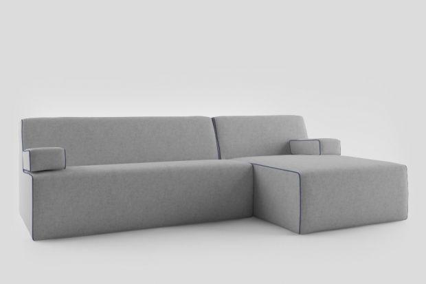 Elegancka sofa do salonu.
