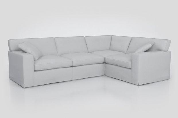 Sofa do salonu w eklektycznym stylu.