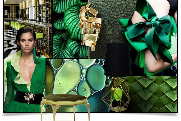 Specjaliści Pantone wybrali kolor roku 2017. Greenery, czyli soczysta zieleń symbolizuje nowy początek i nadzieję na lepsze. Tak pięknie prezentuje się na meblach.