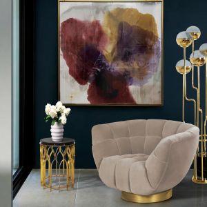 Złote detale dodadzą nawet nowoczesnemu wnętrzu elegancji, wykwintności i ekskluzywności. Fot. Koket