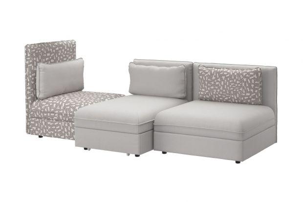 Modułowa sofa do salonu.