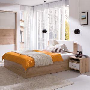 Kolekcja Pola zapewnia wiele miejsca do przechowywania w sypialni. Fot. Wajnert Meble