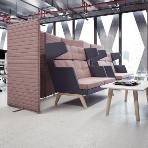 Biurowe ekrany akustyczne firmy Furniko. Fot. Furniko
