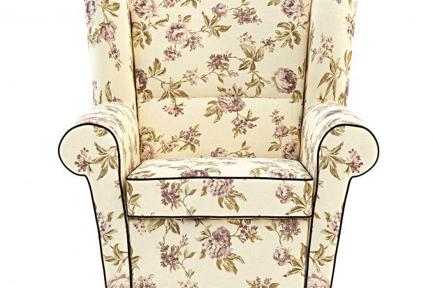 Fotel Lord nawiązuje do klasycznego stylu staroangielskiego.