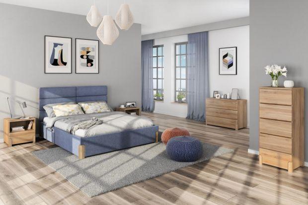 Łóżko z pojemnikiem na pościel to świetne rozwiązanie do małej sypialni. Meble oferuje nie tylko komfort spania, ale także zapewnia dodatkowe miejsce do przechowywania.