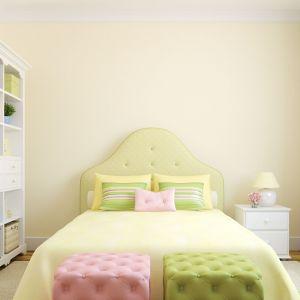 Jasne kolory optycznie powiększają małe wnętrza. Oprócz jasnych barw ścian, warto wybrać również jasne meble. Fot. Materiały prasowe Fabryka Materacy Janpol