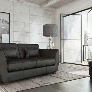 Sofa Arizona to niewielki mebel o oleganckiej stylistyce. Fot. Adriana Furniture