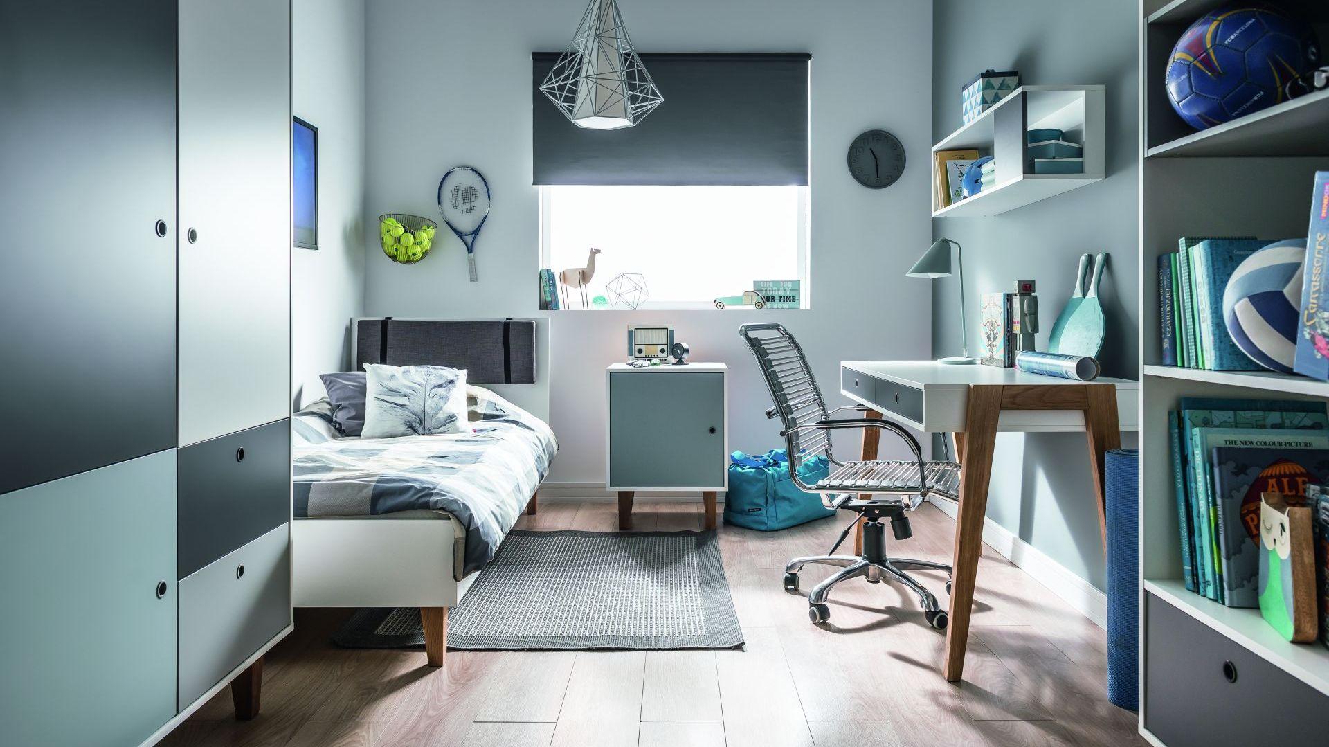Concept to kolekcja mebli w nowoczesnym stylu. Można zmieniać kolorystykę frontów. Fot. Vox