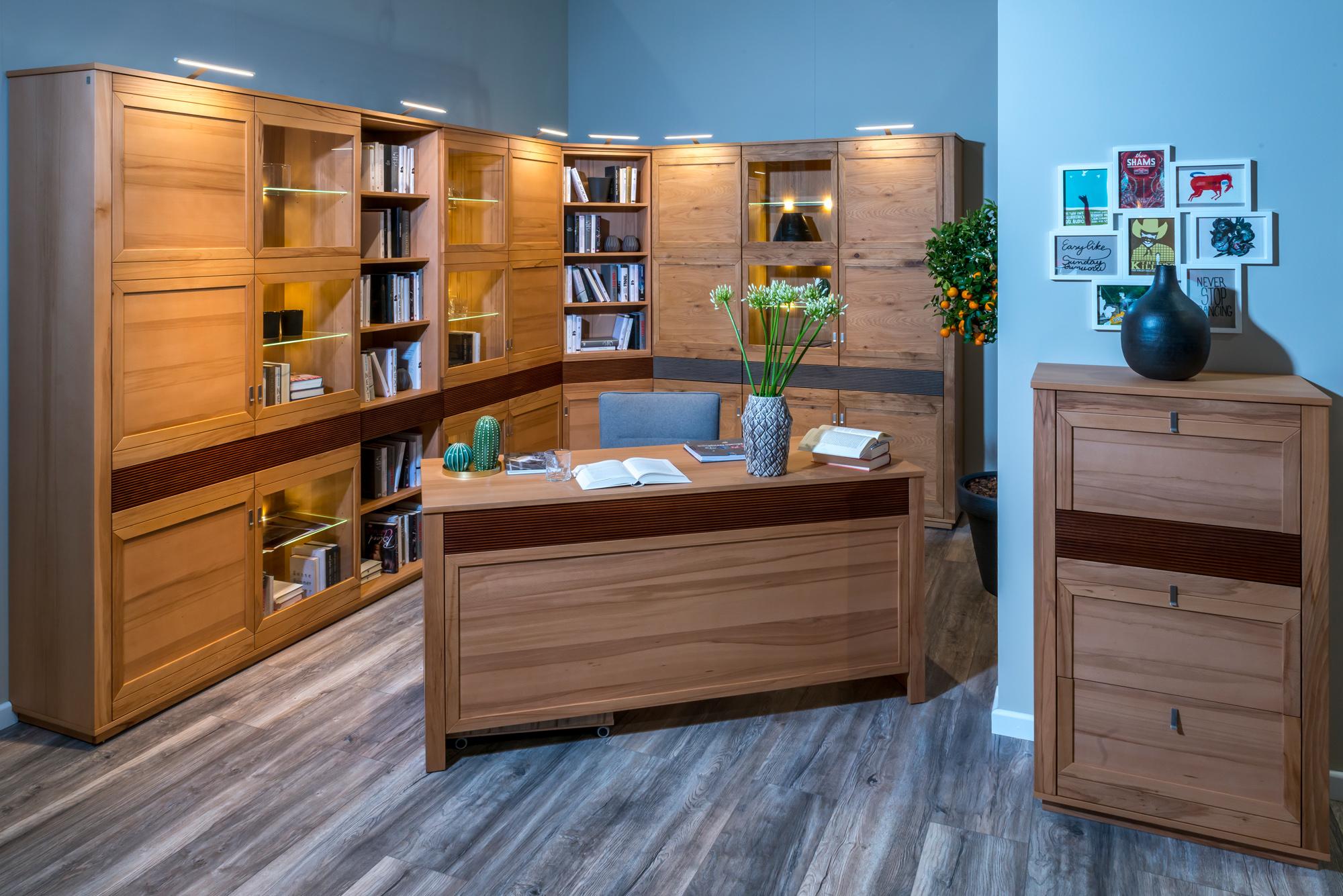 System Kvadro Home Office jest przykładem programu modułowego, który można indywidualnie konfigurować. Fot. Klose