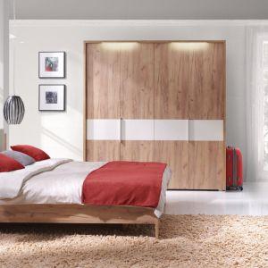 """Sypialnia """"Melody"""" (Wajnert Meble) ma przyjazną, stonowaną kolorystykę. Fot. Wajnert Meble"""