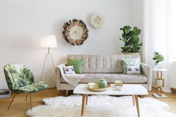 Trendy meblowe. Sofy i fotele z motywem roślinnym