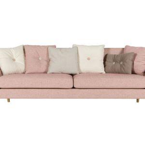 Jasnoróżowa sofa Poppy. Fot. Sits
