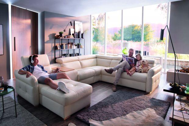 Meble do salonu - sofy modułowe dla całej rodziny