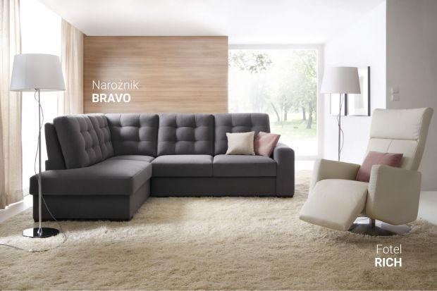 """""""Bravo"""" - z ozdobnym oparciem"""