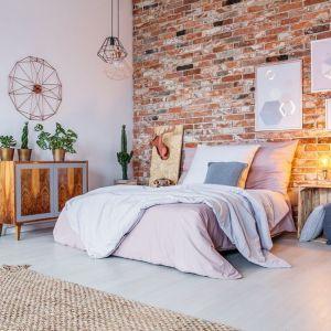 Sypialnia w stylu loftowym. Fot. Janpol