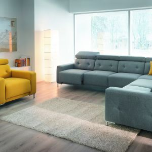 Przytulna sofa albo wygodny narożnik - idealny mebel tapicerowany musi być dopasowany do naszego wnętrza. Fot. Wajnert Meble