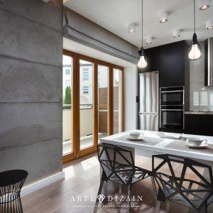 Wnętrze w stylu loft. Projekt: Arte Design