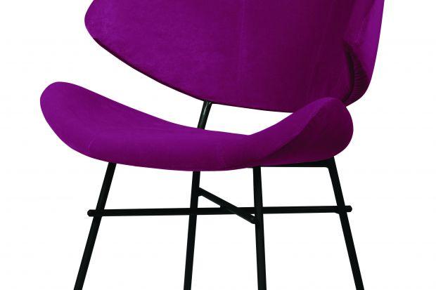 Nowoczesne krzesło do wnętrz prywatnych i publicznych.