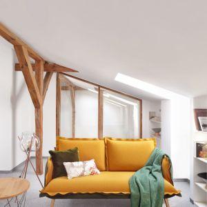 """Sofa z kolekcji """"Skey"""" (Swarzędz Home). Projekt: Jacek Mikołajczyk. Fot. Swarzędz Home"""
