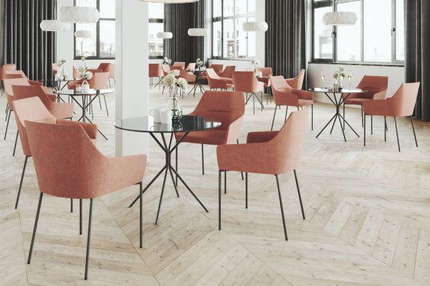 """Stoliki """"Chic"""" firmy Profim charakteryzują się delikatnością i lekkością formy, a także minimalistycznym i wysublimowanym designem. Autorem projektu jest Christophe Pillet."""