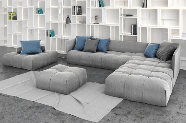 Sofa w salonie. Jeden mebel, a wiele możliwości