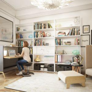 Biurko Nest firmy Mikomax Smart Office odpowiednie jest dla dorosłych, ale i uczniów. Fot. Mikomax Smart Office