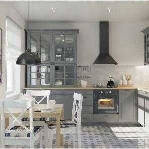 Kuchnia w stylu skandynawskim to prostota, minimalizm i maksymalne wydobycie światła. Fot. Agata