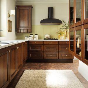 """Elegancja i klasyka w kuchni, czyli """"Royal Gladio"""" z serii """"Senso Kitchens"""" firmy Black Red White. Fot. Black Red White"""