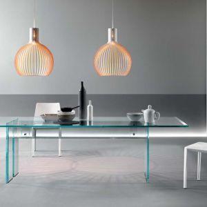 Szklany stół firmy Fiam. Fot. Galeria Heban
