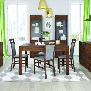 Kolekcja Velvet. Stół można rozłożyć na długość 250 cm. Fot. Szynaka Meble