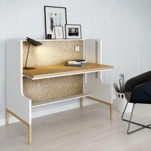 """Regulacja wysokości blatu biurka korzystnie wpływa na kondycję kręgosłupa. Na zdjęciu: biurko """"Nest"""" firmy Mikomax Smart Office. Fot. Mikomax Smart Office"""