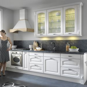 """Royal Frigg"" - kuchnia z linii ""Senso Kitchens"" firmy Black Red White. Fot. Black Red White"