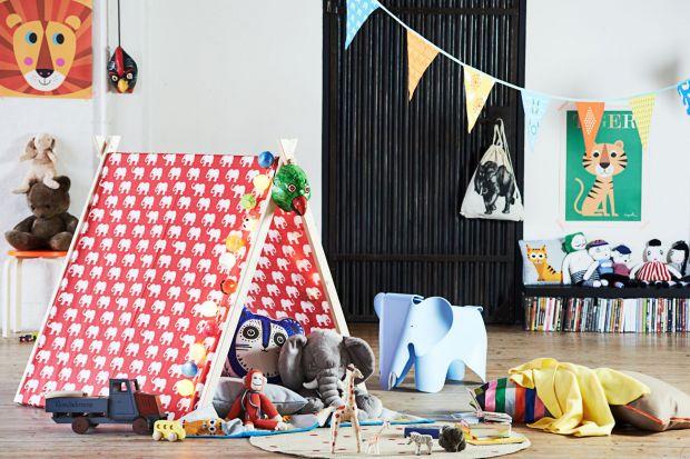 Pokój dziecka. Zrób sam namiot dla małych odkrywców