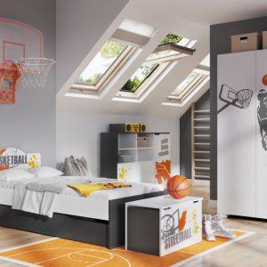 """Kolekcja """"Basket"""" firmy Meblik - propozycja dla małych fanów koszykówki. Fot. Meblik"""