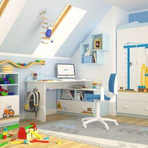 """Kolekcja """"Builder"""" firmy Meblik - propozycja dla małych budowniczych. Fot. Meblik"""