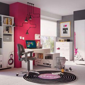 """Kolekcja """"Music Libe Pink"""" firmy Meblik - propozycja dla miłośniczek dobrej muzyki. Fot. Meblik"""