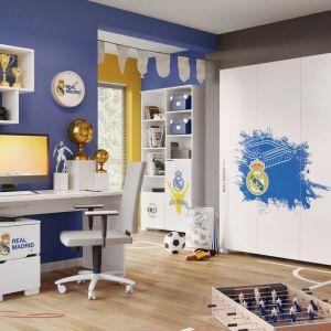 """Kolekcja """"Real Madrid"""" firmy Meblik - propozycja dla fanów """"królewskich"""" z Madrytu. Fot. Meblik"""