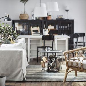 Gualov - stolik z miejscem do przechowywania. Fot. IKEA