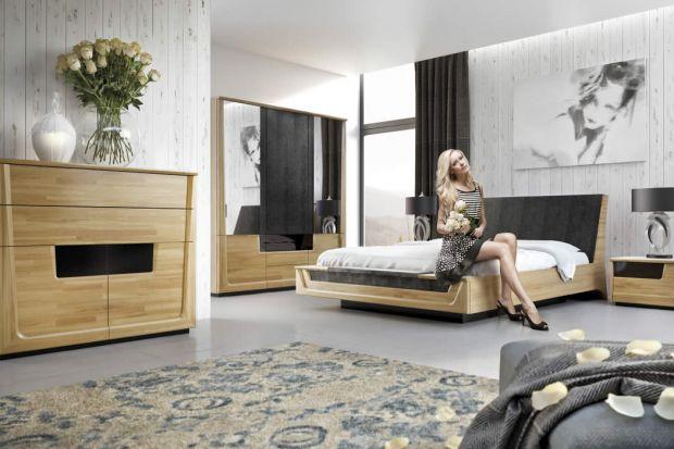 Meble do sypialni - wybierz jasne kolory drewna