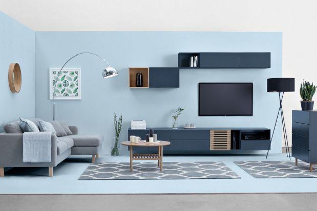 Minimalistyczny styl dostępnych w ramach kolekcji zestawów TV, bufetów, witryn, regałów, komód i stolików sprosta gustom i potrzebom najbardziej wymagających.