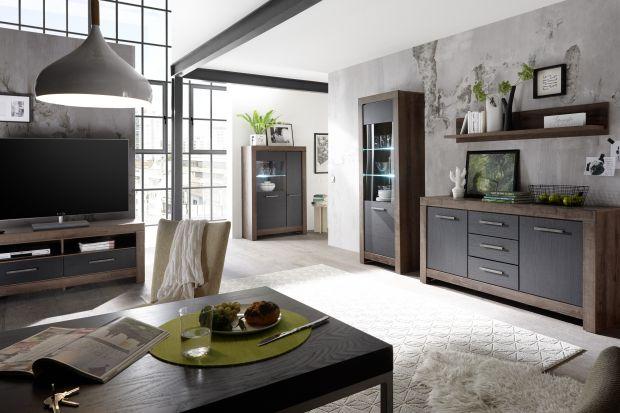 """Połączenie czerni i naturalnego odcienia drewna w nowej kolekcji """"Balin"""" firmy Black Red White to alternatywa dla wszechobecnej bieli. Kolekcja utrzymana jest w stylu nowoczesnej klasyki, która przejawia się masywnymi korpusami zestawionymi"""