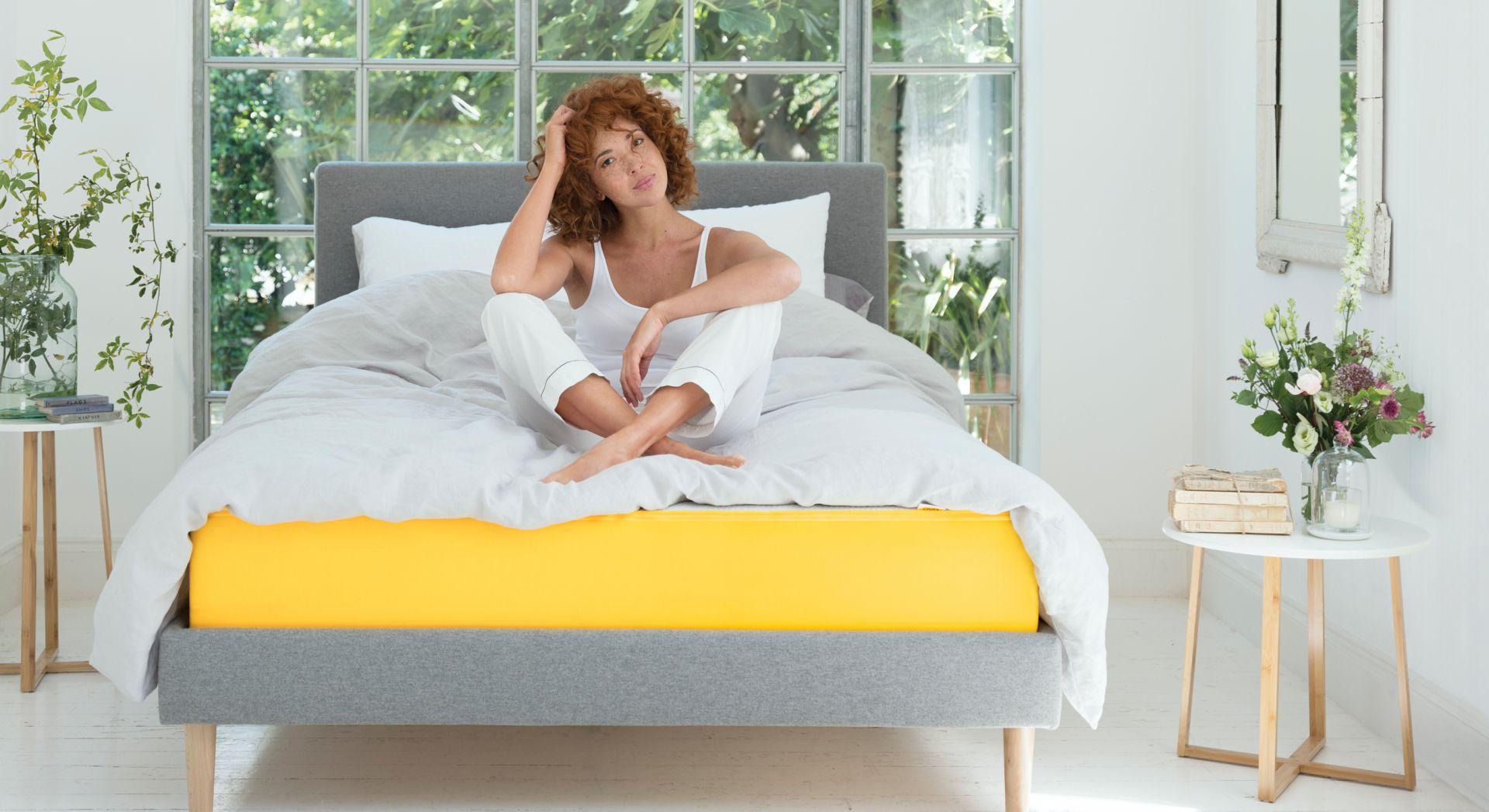 Łóżko eve  zagłówkiem. Fot. eve Sleep