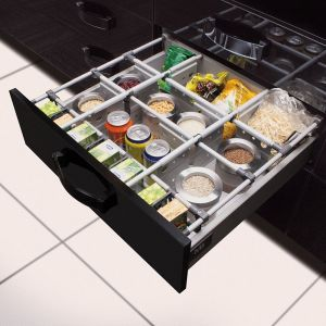 Akcesoria do organizacji wnętrza szuflad. Fot. GTV