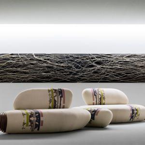 "Sofa ""Botan"" Passoni Nature. Projekt: Benedetta Tagliabue. Fot. Passoni Nature"