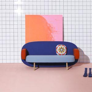 """Sofa """"Float"""" firmy Sancal. Projekt: Karim Rashid. Fot. Sancal"""