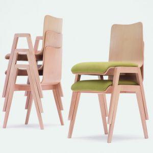 "Krzesła z serii ""Link"" firmy Paged. Projekt: Jan Lewczuk. Fot. Paged"