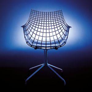 "Krzesło ""Meridiana"" firmy Driade. Projekt: Christophe Pillet. Fot. Driade"