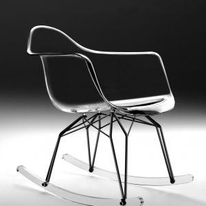 "Krzesło ""Diamond Rocker"" firmy Kubikoff. Fot. Kubikoff"